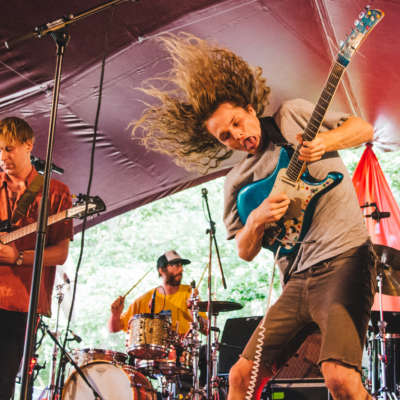 King Gizzard & The Lizard Wizard's vicious psychedelia takes root in the Latitude 2015 woods