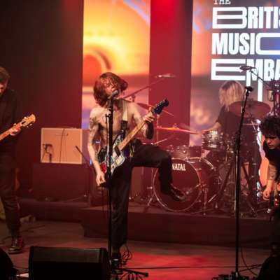 Relive King Nun's entire live set for the British Music Embassy Sessions