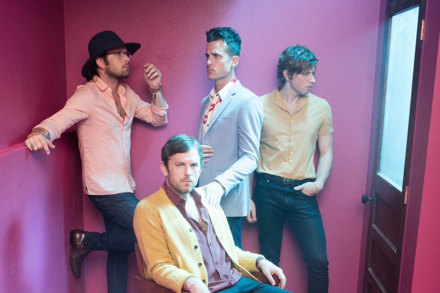 Kings of Leon have an alien encounter in the video for 'Reverend'