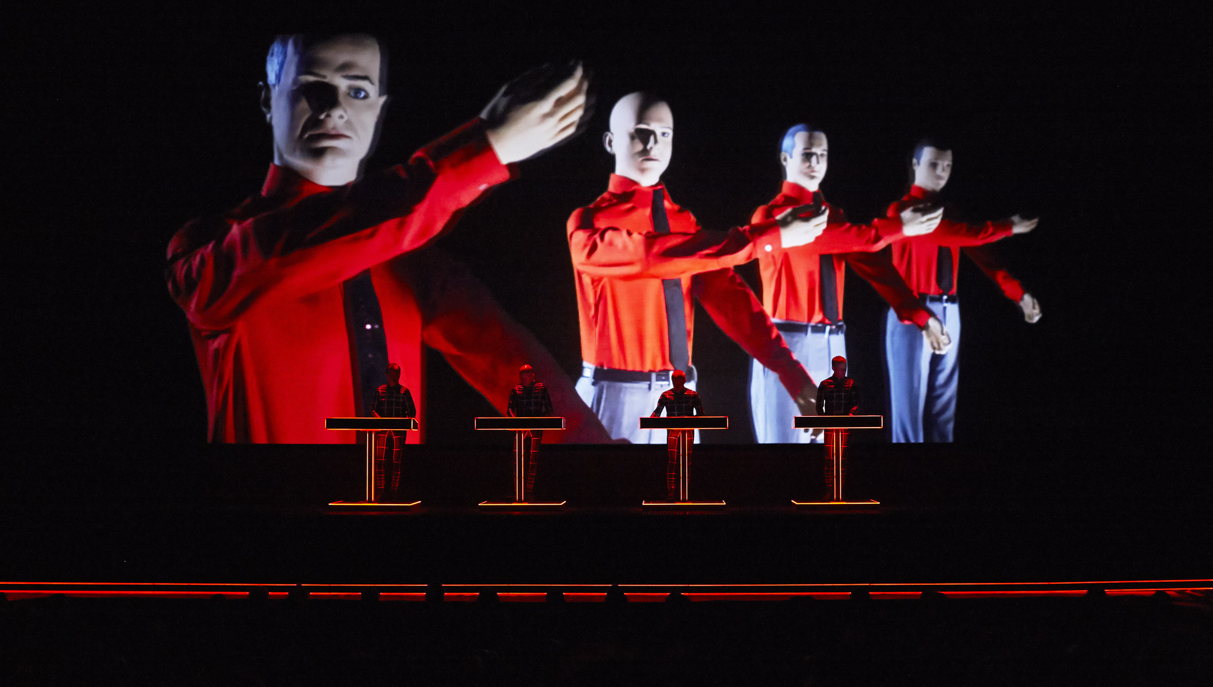 Kraftwerk to take their 3-D show to Bluedot 2019