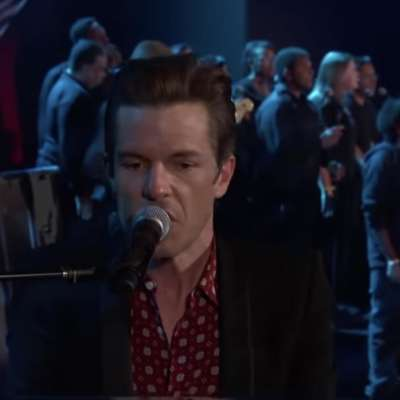The Killers take 'Land of the Free' to American telly