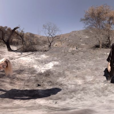 Go 360 with The Kills in their VR 'Whirling Eye' video