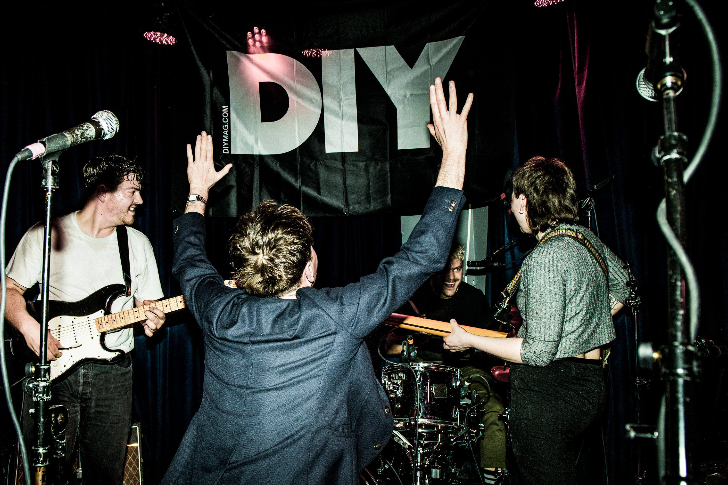 LIFE lead the cavalry at DIY's New Colossus stage in New York