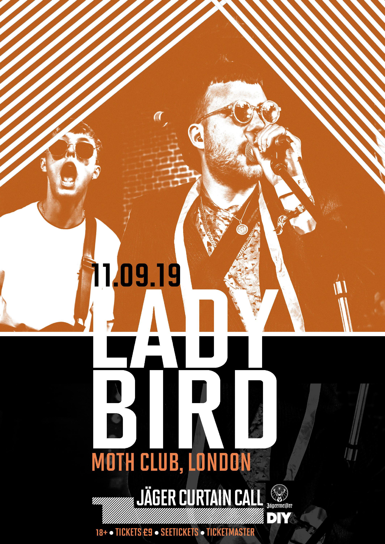 Lady Bird to play London's Moth Club for Jäger Curtain Call 2019