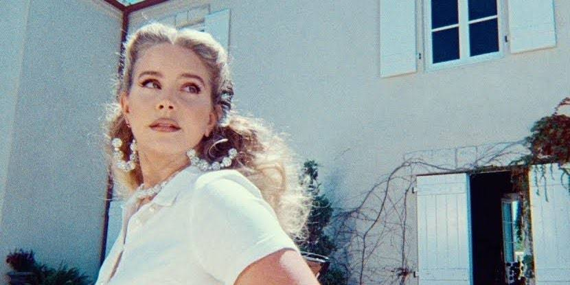 Lana Del Rey unveils 'Chemtrails Over The Country Club' video
