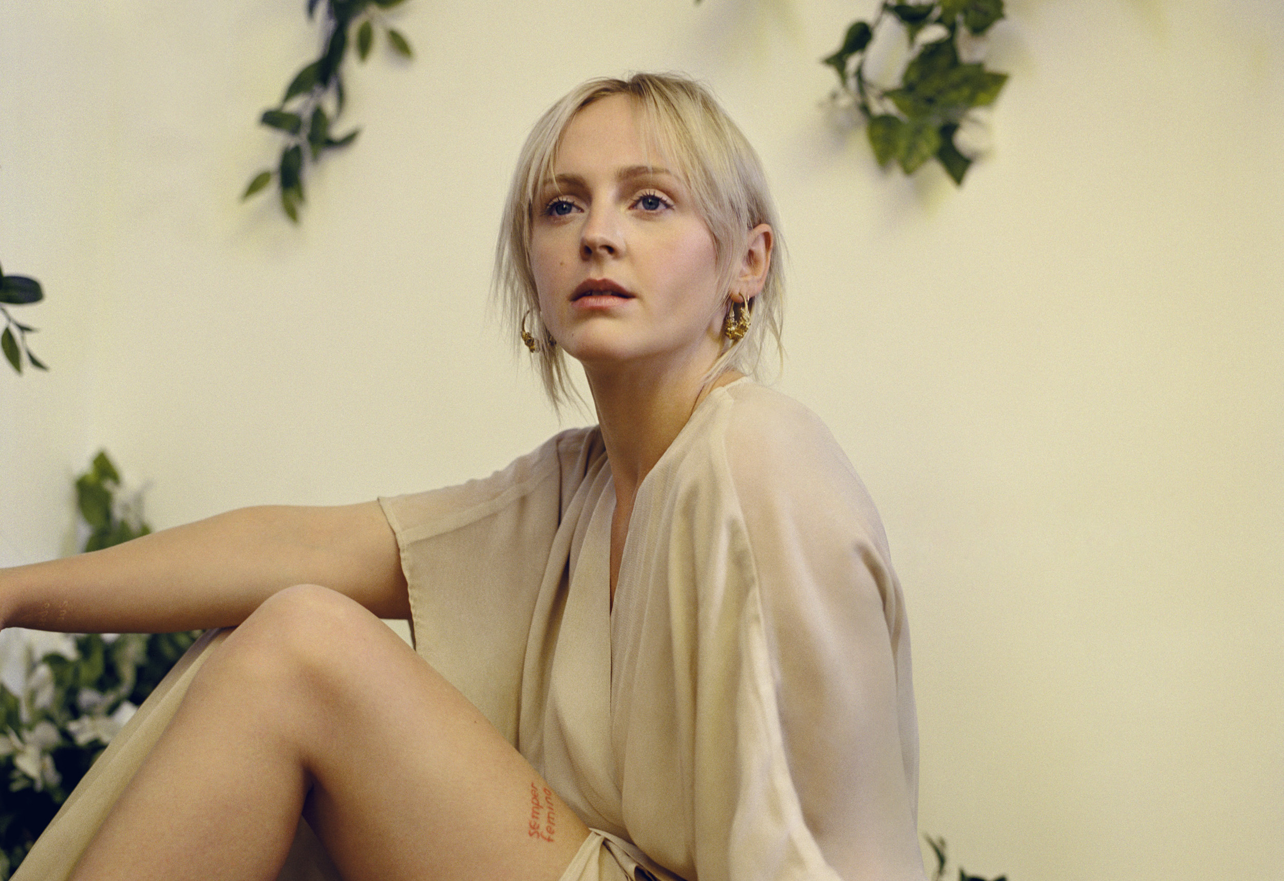 Laura Marling played brand new tracks for 'A Prairie Home Companion'