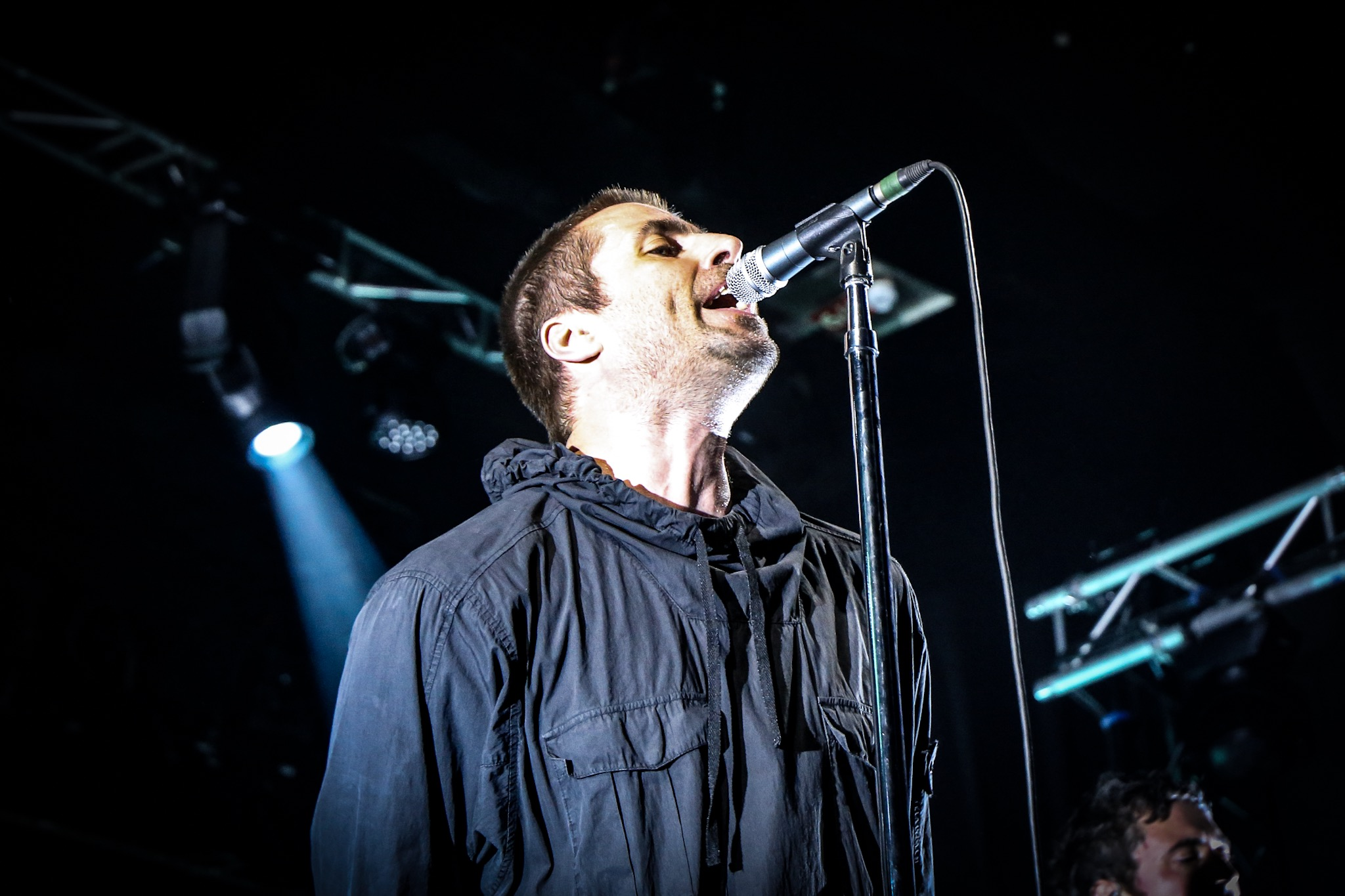 Liam Gallagher draws the crowds for a secret set at Day Two of Reeperbahn Festival