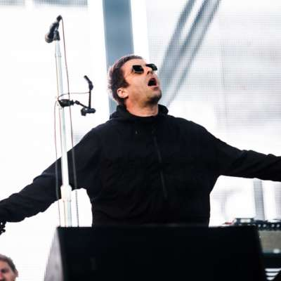 Watch Liam Gallagher storm the stage as The Killers headline Latitude