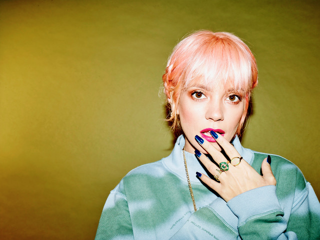 Lily Allen teams up with Giggs on 'Trigger Bang'