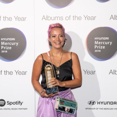 """I'm just very overwhelmed!"" - Lily Allen talks her Hyundai Mercury Prize nod"