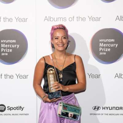 """I'm just very overwhelmed!"" - Lily Allen talks her Hyundai Mercury Prize nod"