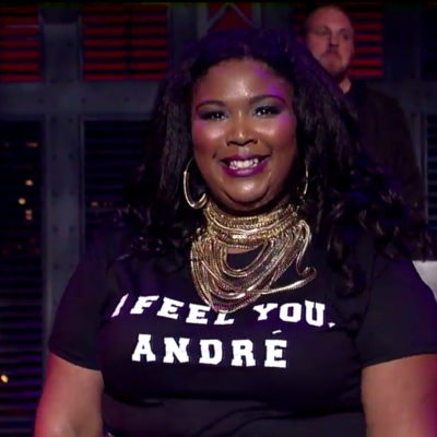 Watch Lizzo bring 'Bus Passes and Happy Meals' to Letterman