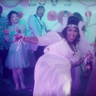 Lizzo turns runaway bride in the video for 'Truth Hurts'