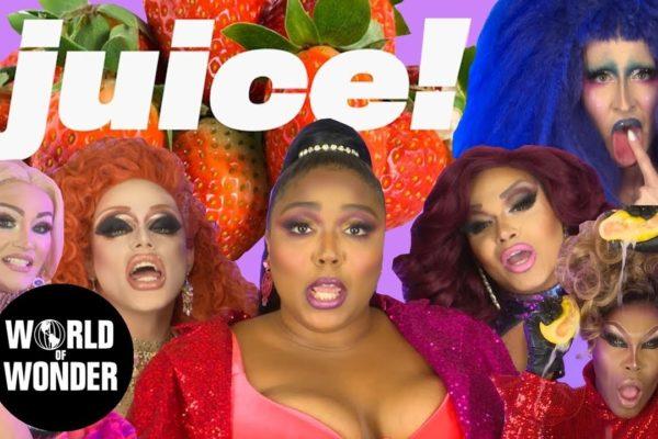 Stars of Ru Paul's Drag Race join Lizzo in her 'Juice' video