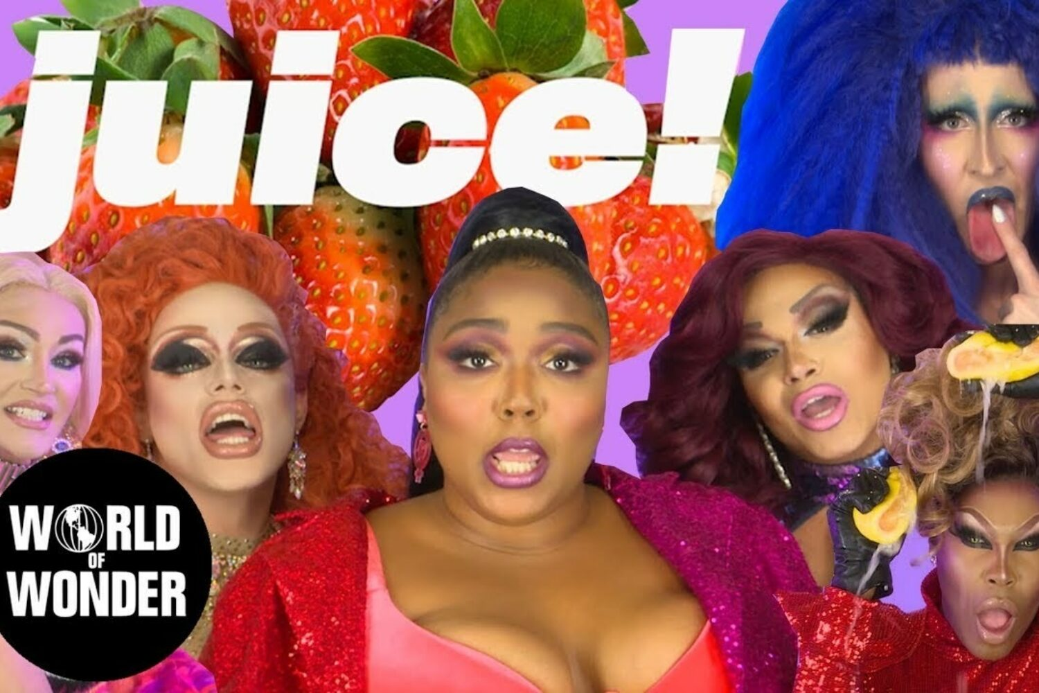 Stars of Ru Paul's Drag Race join Lizzo in her 'Juice' video