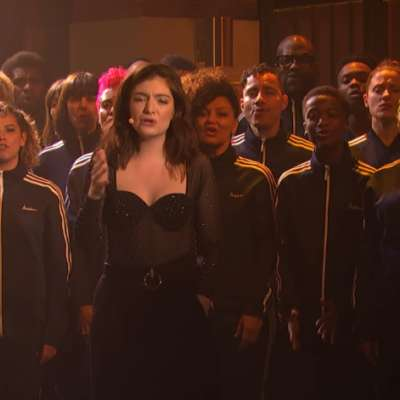 Watch Lorde take 'Perfect Places' to US telly