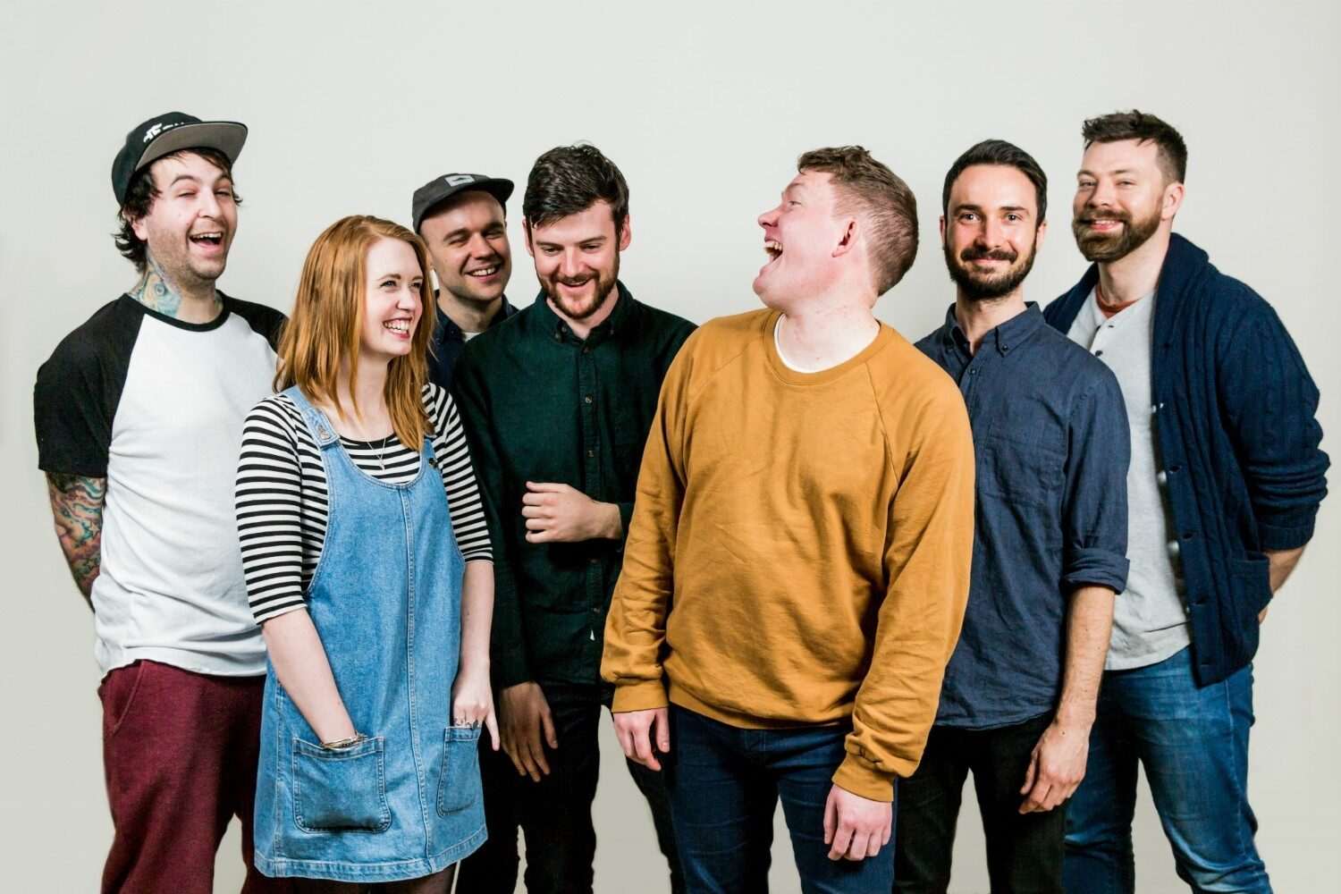 Los Campesinos! announce Hookworms, Trust Fund and Slow Club for Us vs. Them