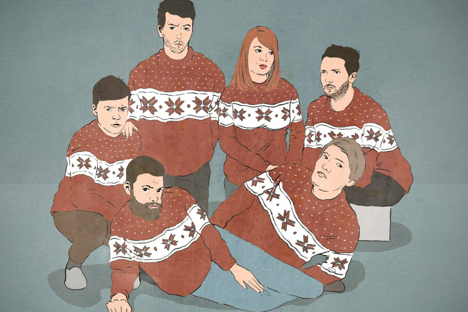 Christmas with the Campesinos!