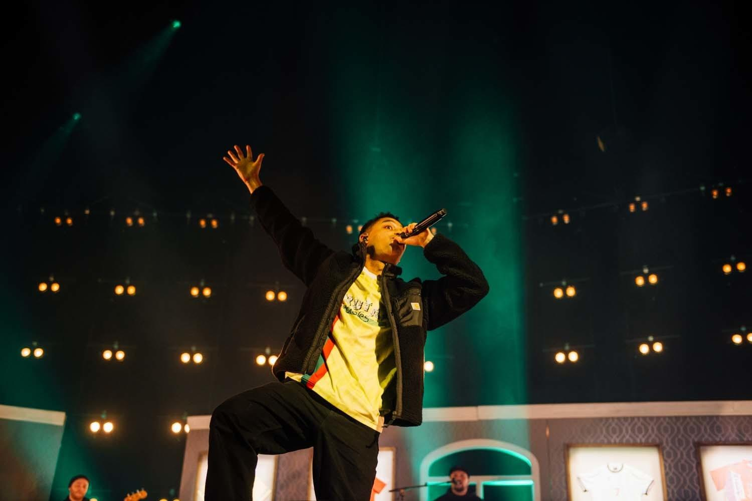Loyle Carner, Alexandra Palace, London