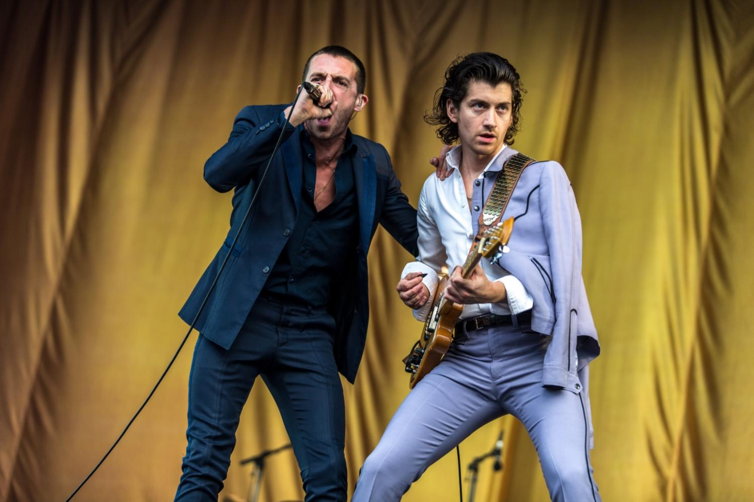 The Last Shadow Puppets make up another song - this one's about LCD Soundsystem