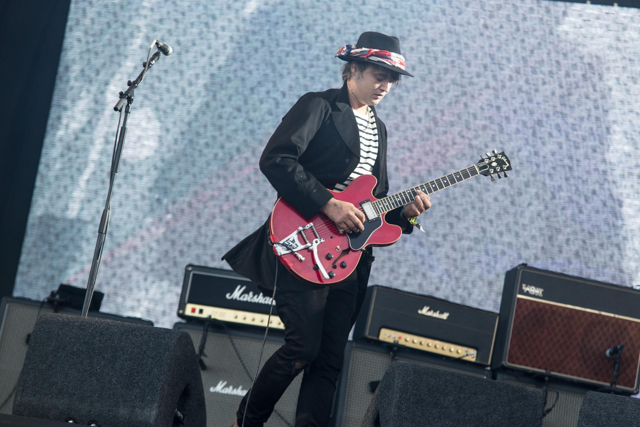 The Libertines play secret Pyramid Stage set at Glastonbury 2015