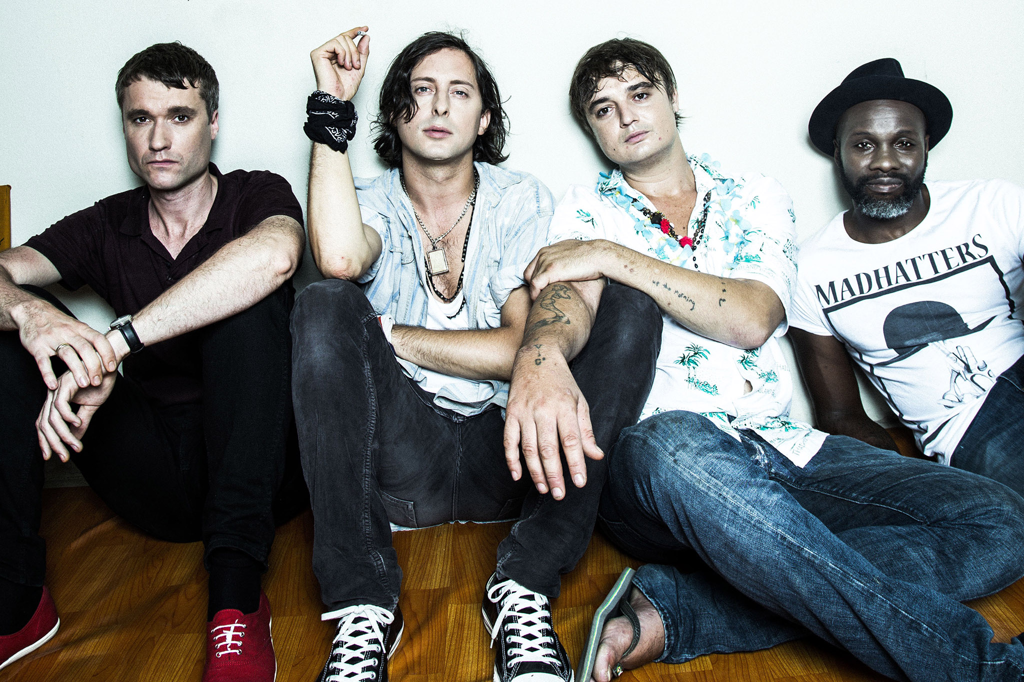 The Libertines unveil new puppet show 'Skint and Minted'