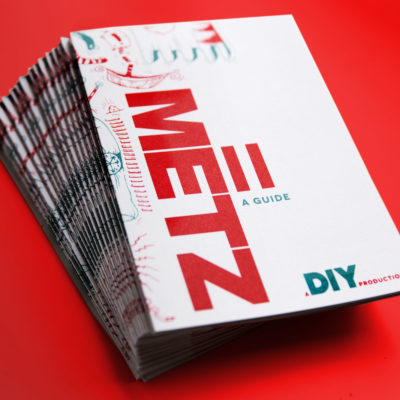 DIY teams up with Metz for ultimate 'II' 'zines