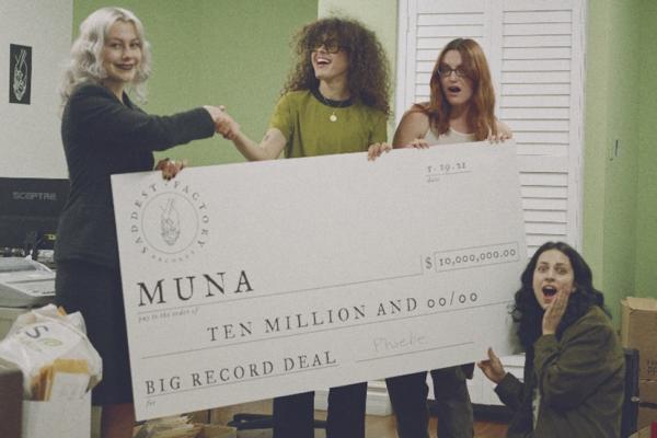 MUNA sign to Saddest Factory Records