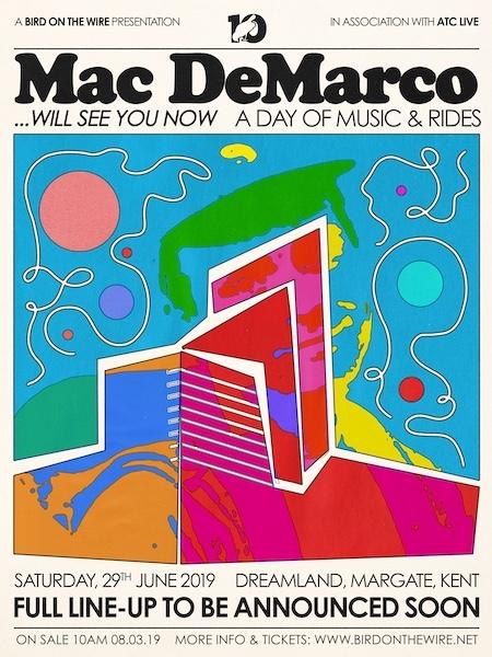 Mac DeMarco announces huge show at Dreamland Margate