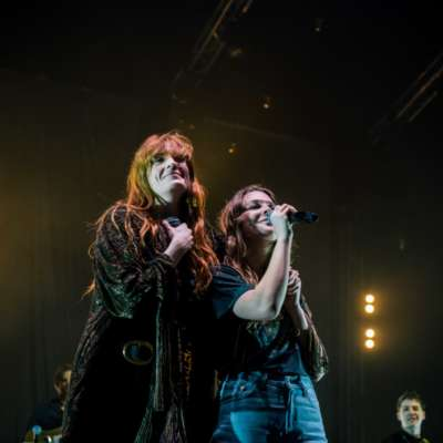 Watch Florence Welch join Maggie Rogers on stage at Brixton Academy