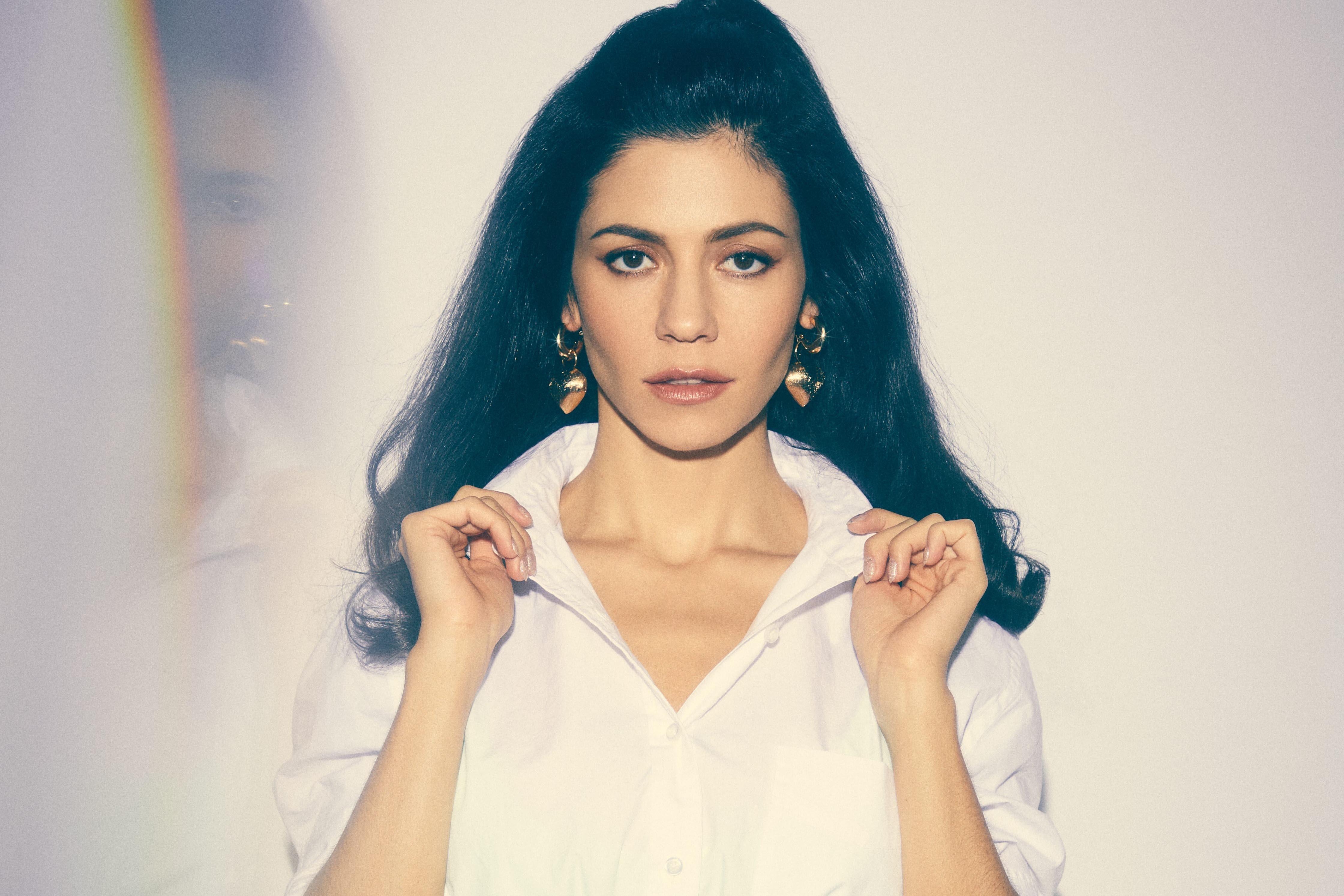 Marina releases half her new album