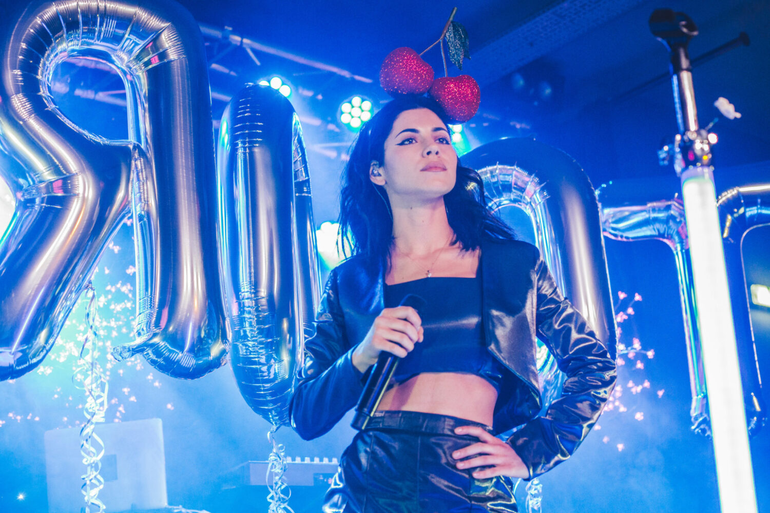 Watch Marina and the Diamonds perform 'Forget' on Conan