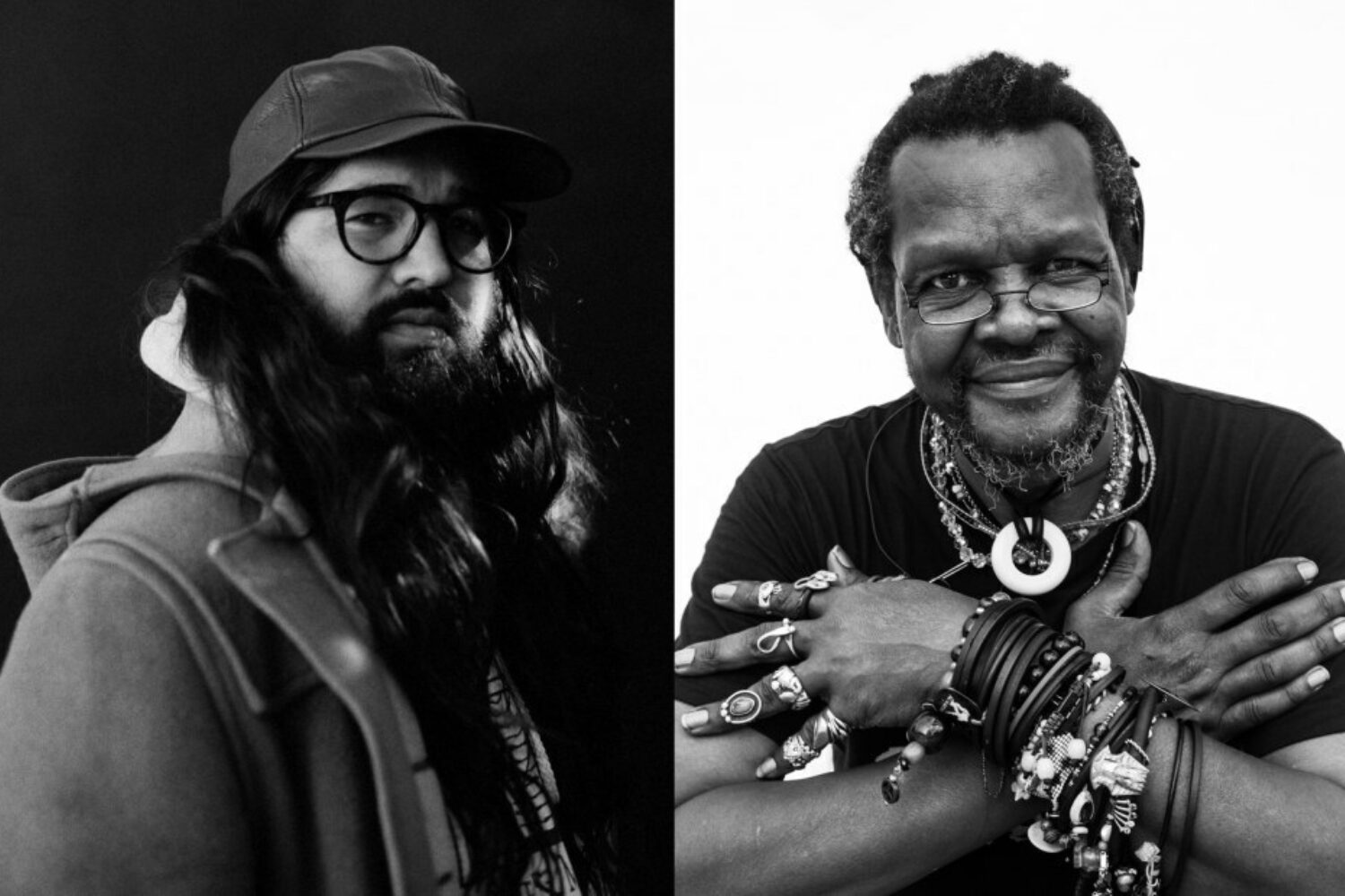 Matthew E. White and Lonnie Holley announce new album 'Broken Mirror: A Selfie Reflection'