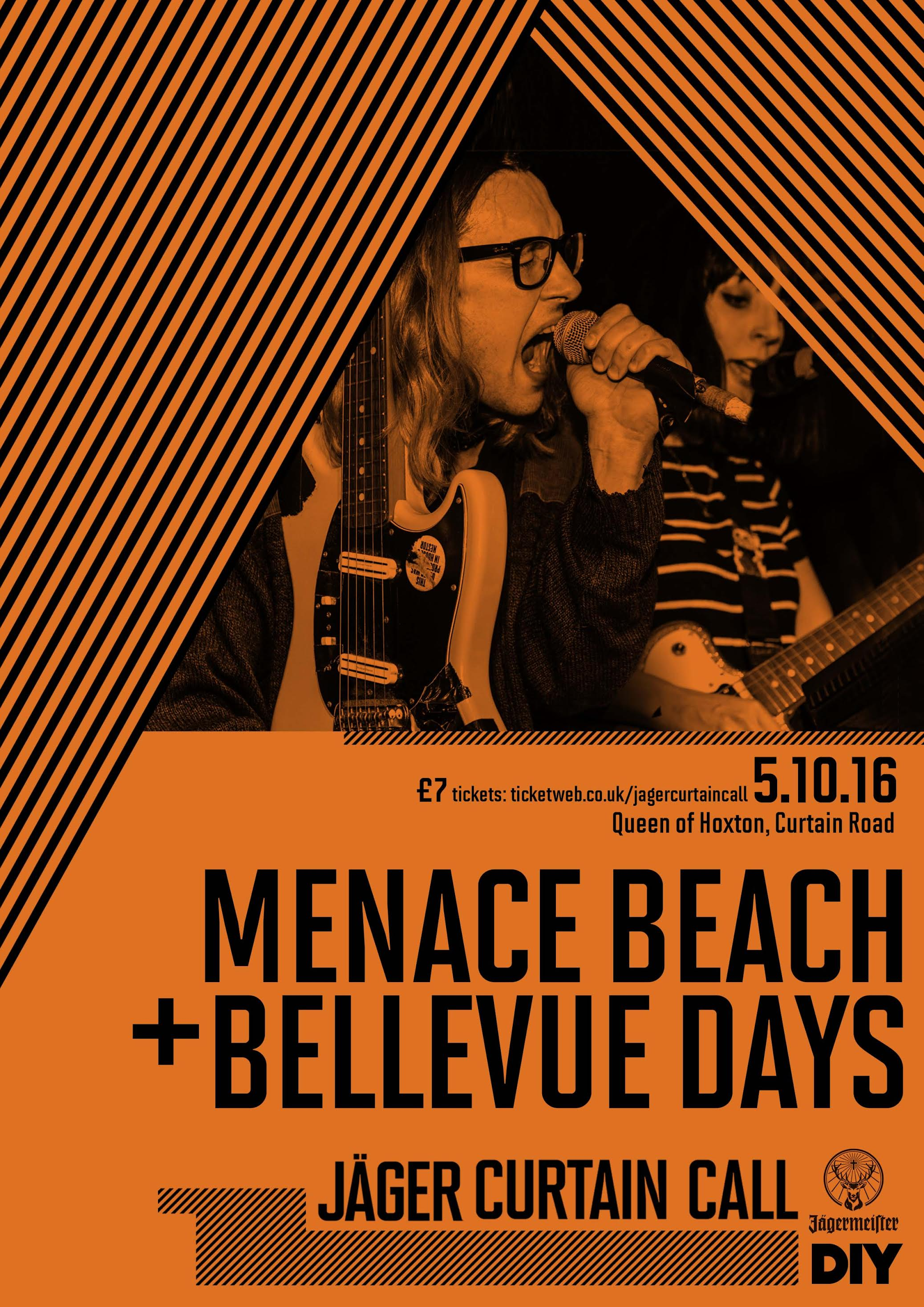 Menace Beach join Bellevue Days for Jäger Curtain Call show