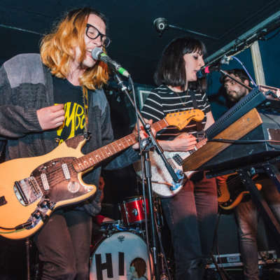 Menace Beach bring Record Store Day to spectacular, rowdy end at The Old Blue Last