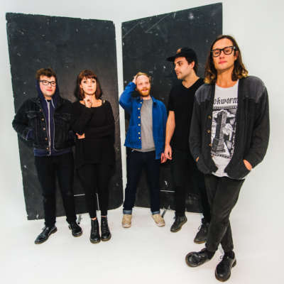 Menace Beach shoot for a starry night on 'Holidays Are Heavy'