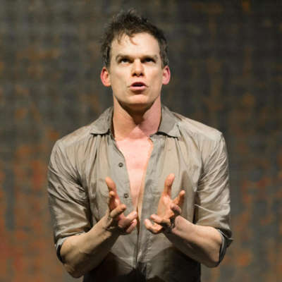 """I'm pinching myself"" - Michael C. Hall talks his Bowie Mercury Prize performance"