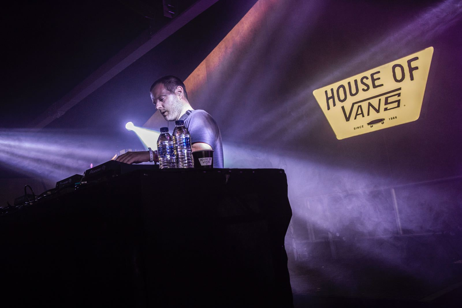 Mike Skinner gives Bestival a final night surprise on the DIY stage at the House Of Vans
