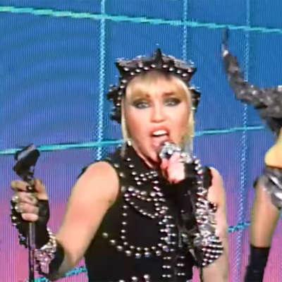 Miley Cyrus performs 'Prisoner' on Jimmy Kimmel