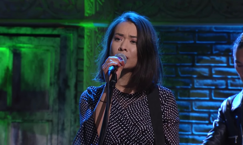 Mitski brings 'Your Best American Girl' to Colbert