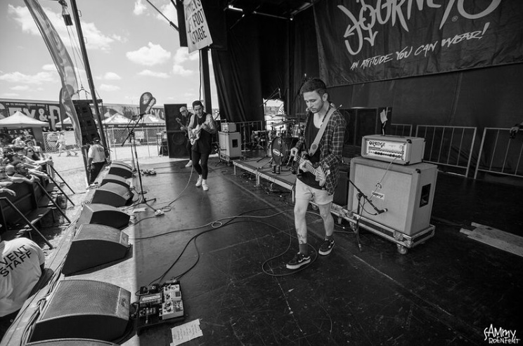 Warped Tour Diary: Moose Blood