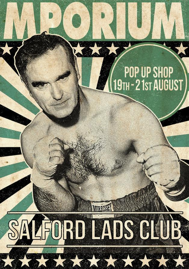 Morrissey to open pop-up shop at Salford Lads Club