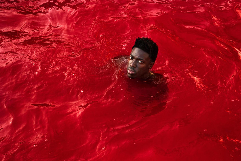 Moses Sumney, 'Black In Deep Red, 2014', 'Rank & File'