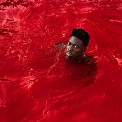 Moses Sumney, 'Black In Deep Red, 2014', 'Rank & File'