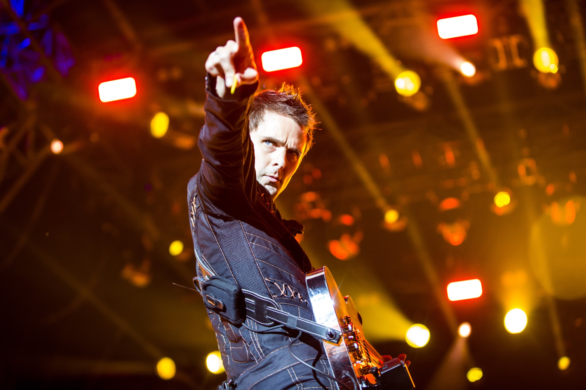 Muse want to learn to fly using magnets, their tour director can't sleep over it