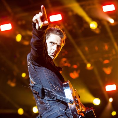 Muse give a masterclass to close day one of Glastonbury 2016