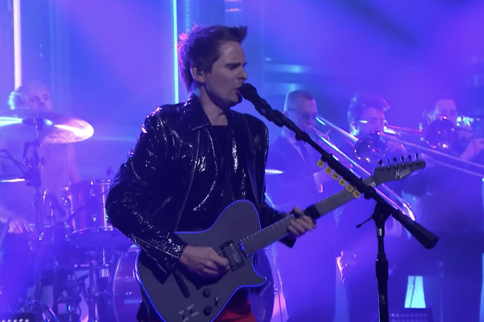 See Muse perform 'Pressure' on US telly