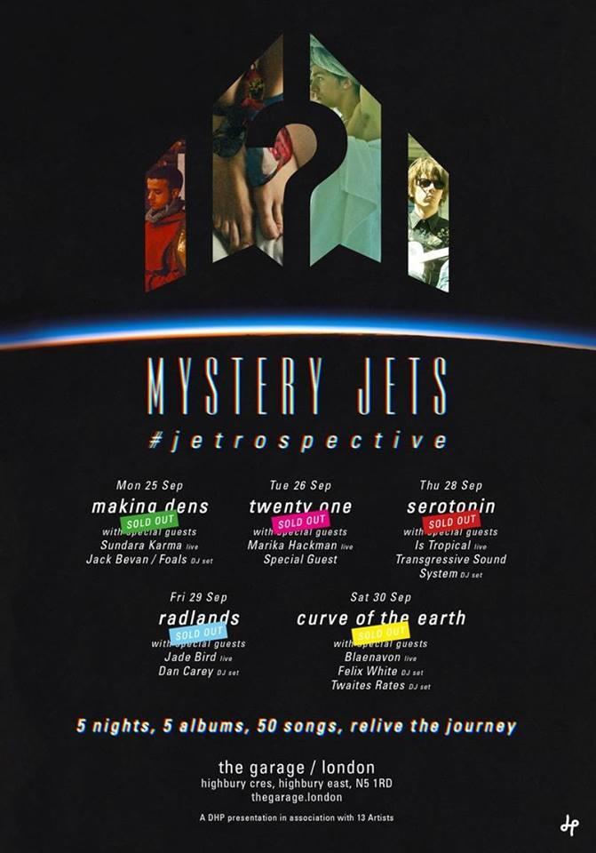 Blaenavon, Marika Hackman, Sundara Karma and more to support Mystery Jets