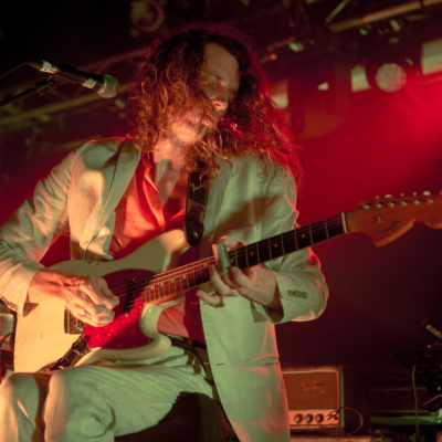 """Mystery Jets talk their Kaleidoscope set: """"A magician never reveals what's behind his curtain"""""""
