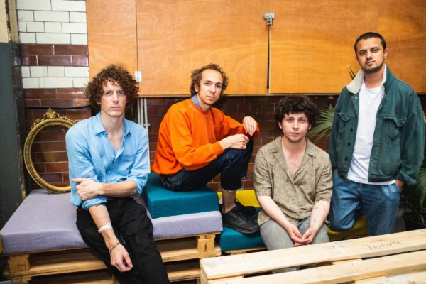 In the studio with Mystery Jets